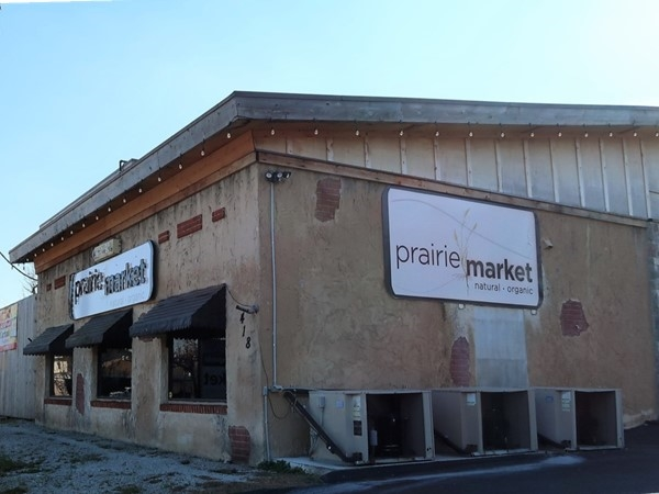 Patagonia sold here! Prairie Market is a natural and organic store south of Harrison