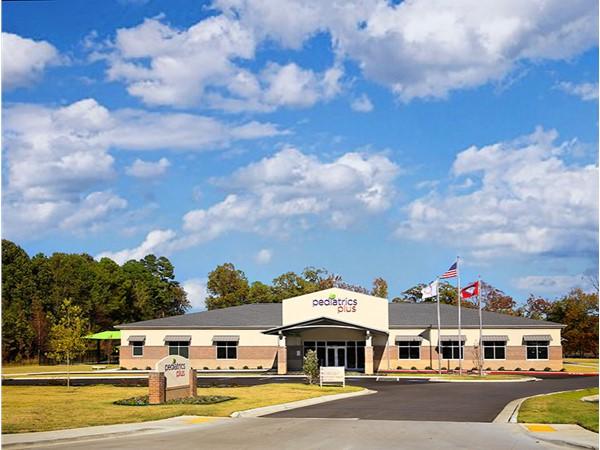 Pediatrics Plus off Country Club in Sherwood