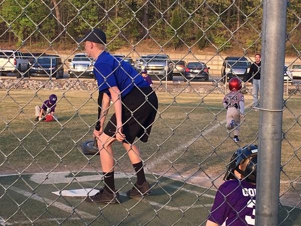 Family fun at the church league baseball fields