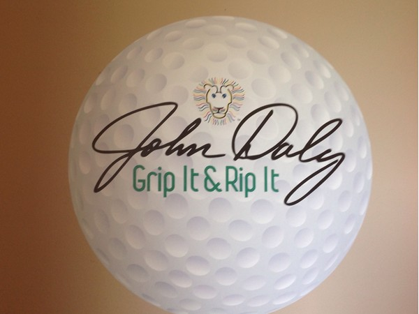 John Daly Lions Den Golf Club. The famous among us @PGA_JohnDaly