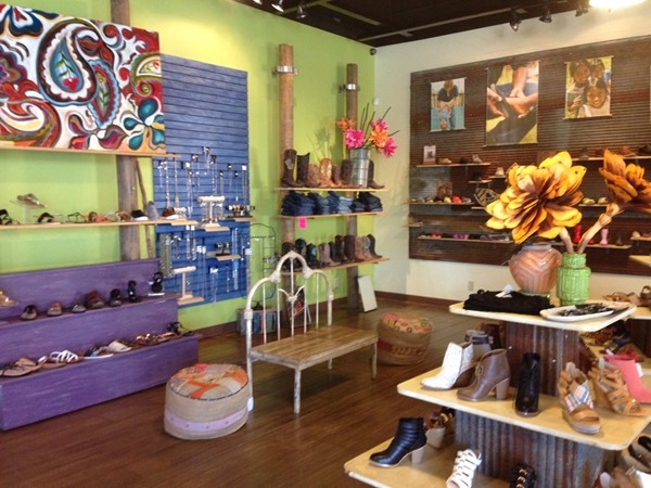 The Other Foot - a super cute boutique off East Parkway