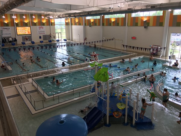 Benton's Riverside Park. The indoor pool is perfect for year round fun