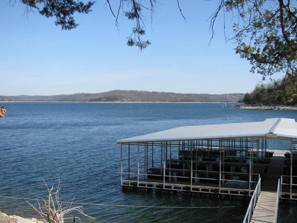 Lakefront living in Garfield! Beautiful views of Beaver Lake