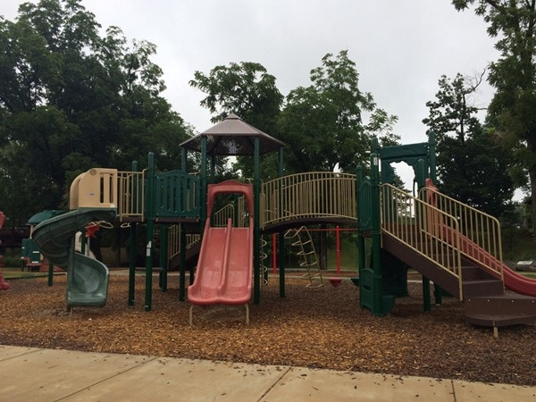 Playgrounds are found along the many hiking and bike trails in Benton County