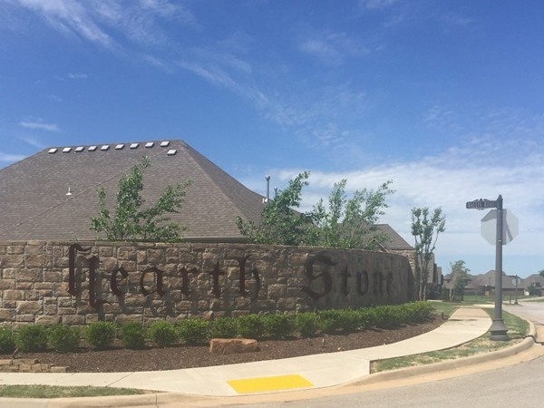Hearth Stone is a great family friendly subdivision in Rogers