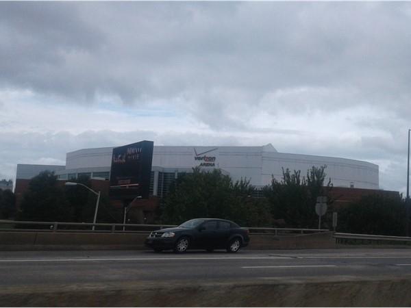 Downtown Little Rock's Verizon Area Event Center