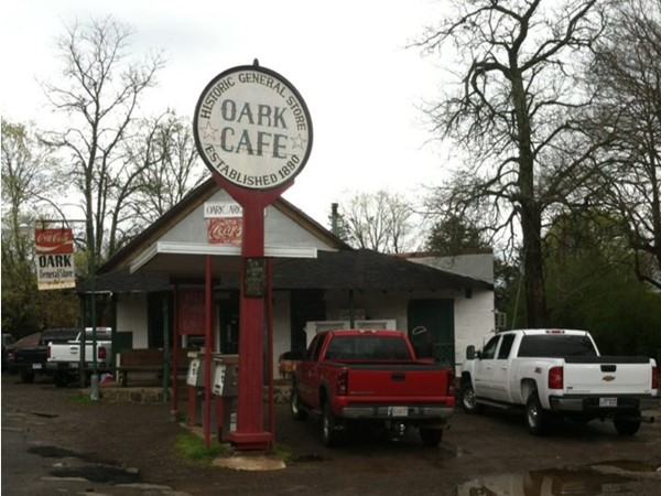 Oark Cafe and General Store opened in 1890. It is a must stop for a good ole slice of pie