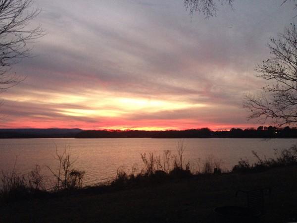 Sunset on Shoal Bay