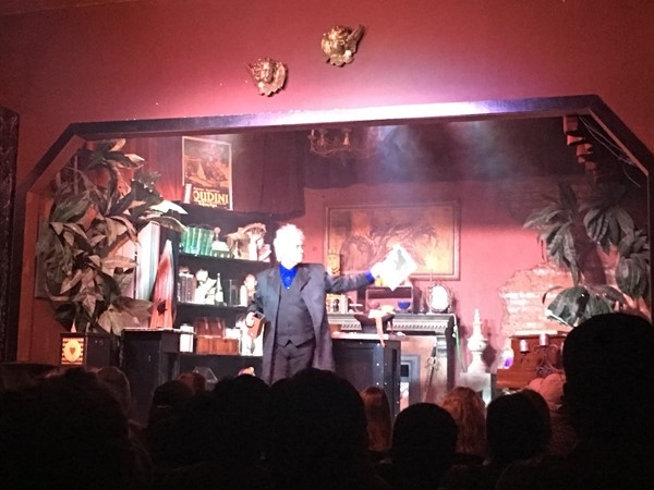 Maxwell Blade Magic Show in Downtown Hot Springs