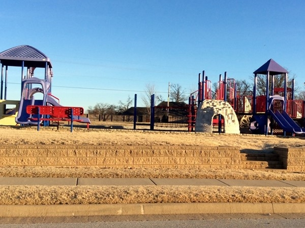 What a great playground for the residents of Brentwood in Cave Springs AR