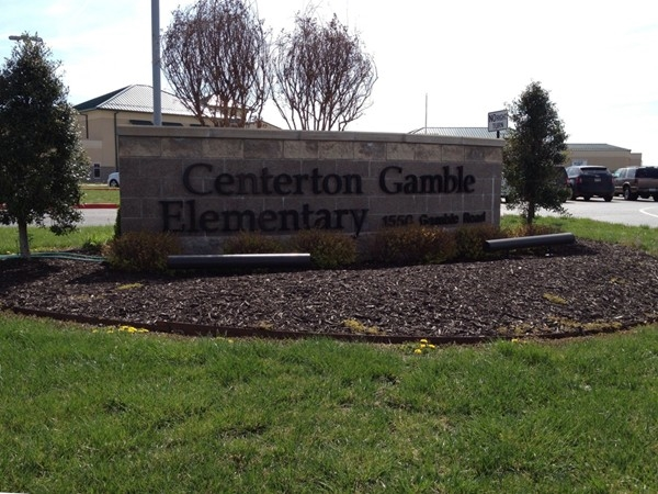 Gamble Elementary is the first Bentonville Public School in Centerton
