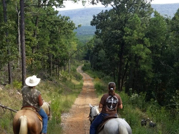 Lonesome D Horse & RV Camp offers miles and miles of scenic trails