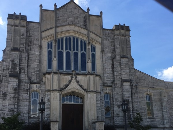 Downtown Hot Springs First United Methodist Church