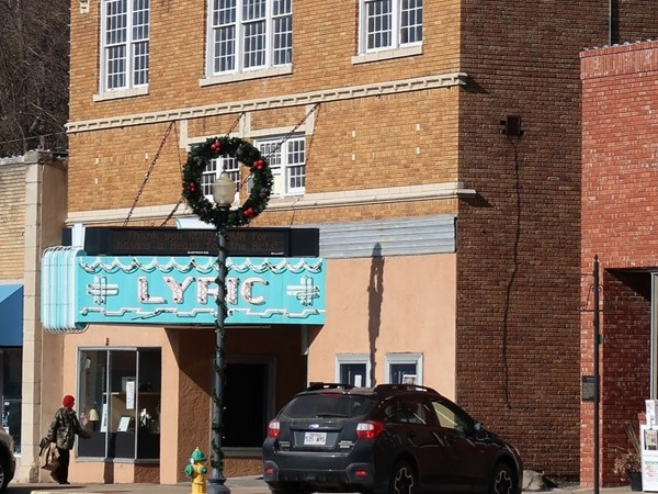 Founded in 1929, the Lyric Theater is still providing the community with quality entertainment