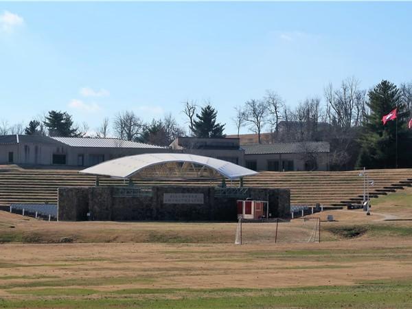 Bill Baker Amphitheater at NorthArk - sharing the sounds of Bluegrass music and summer movies