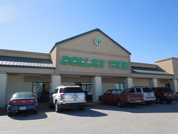 Dollar Tree is located just off Highway 62, Berryville