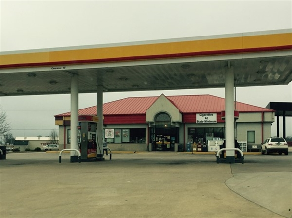 Get a cold A&W float here! Easy access just off I-40