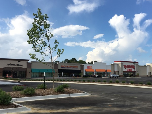 New Shoppes of Benton are set to open June-July of 2017 in Benton off I-30