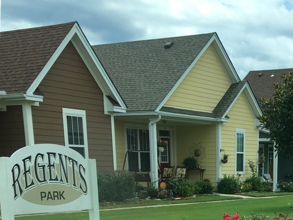The unique Midtown Subdivision inside Bryant. This is the Regents Park area homes