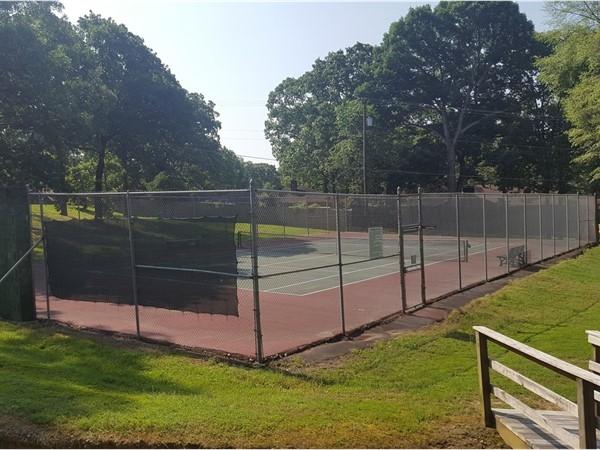 Overbrook tennis court