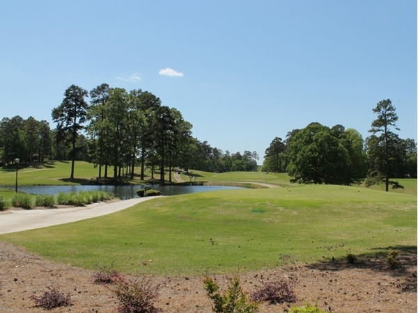 Desoto Golf Course on a beautiful spring day