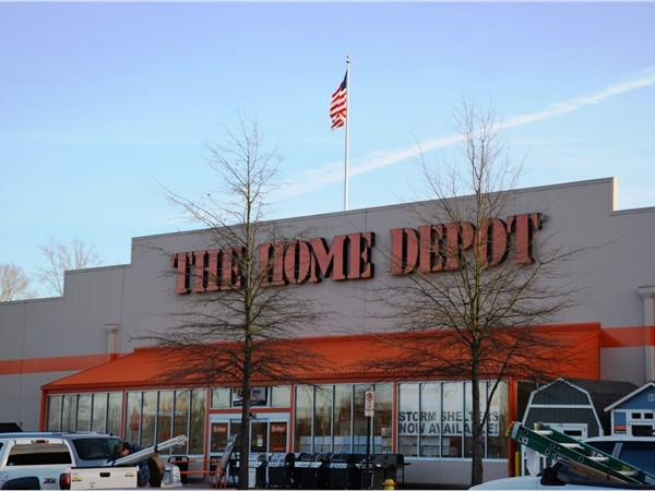 The Home Depot has two locations around Little Rock. This one is off I-30 in SW Little Rock