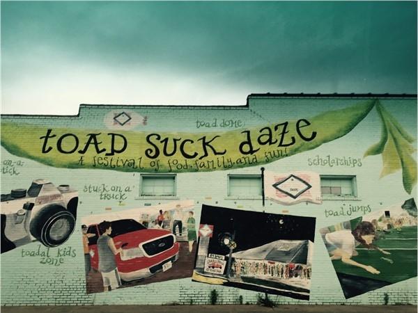 Conway's Annual Festival: Toad Suck Daze