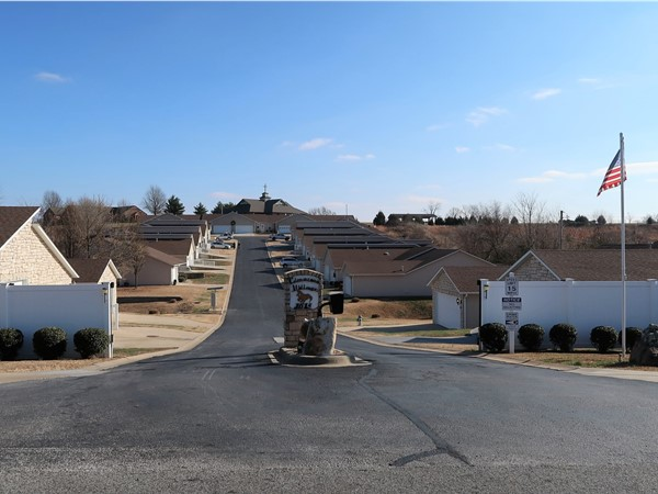 Cimarron Village - 55 year and older community in the heart of Harrison