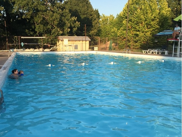 Cool off at the Vache Grasse Country Club in Greenwood