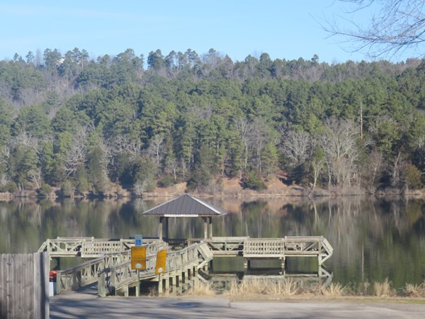 Lake Ludwig is just outside of the Clarksville city limits. Fish, boat, swim, and enjoy