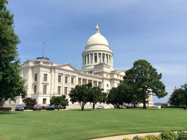 The Arkansas State Capitol building was modeled after our nation's capitol in 1915