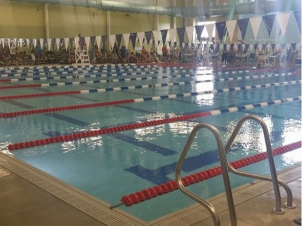 The olympic size pool at the bentonville rec center for Bentonville pool