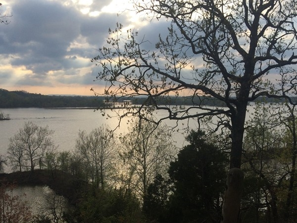Great hiking in Conway! Cadron Settlement Park has gorgeous views over the river