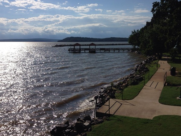 Lake Dardanelle Park is great place for picnics and fishing