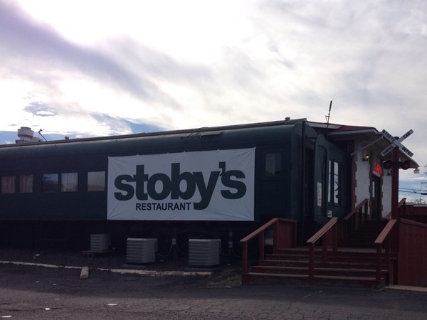 Stoby's Restaurant - you can eat in a train car and pull the train whistle outside