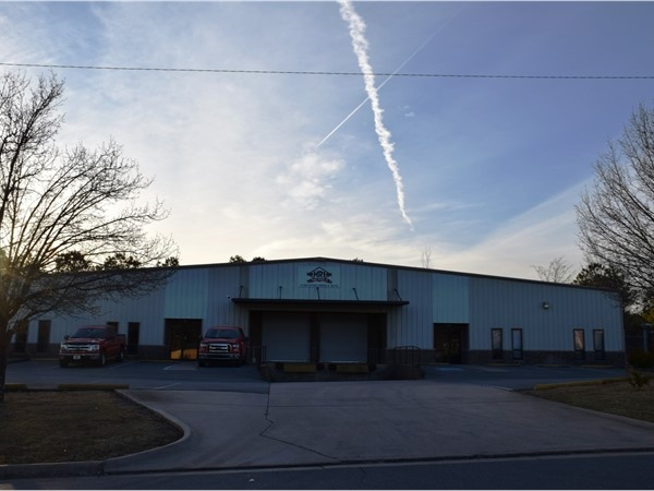 HRI Roofing, another office/warehouse tenant in the industrial area of Little Rock/Mabelvale