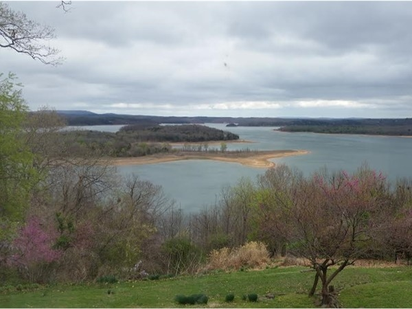 Hints of springtime on Beaver Lake