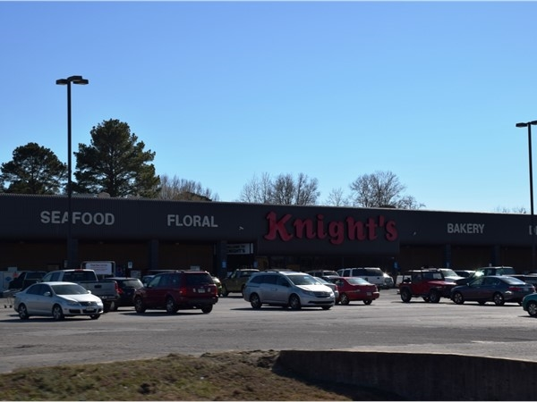 Knight's, a family owned grocery, is very popular in many of Central Arkansas small towns