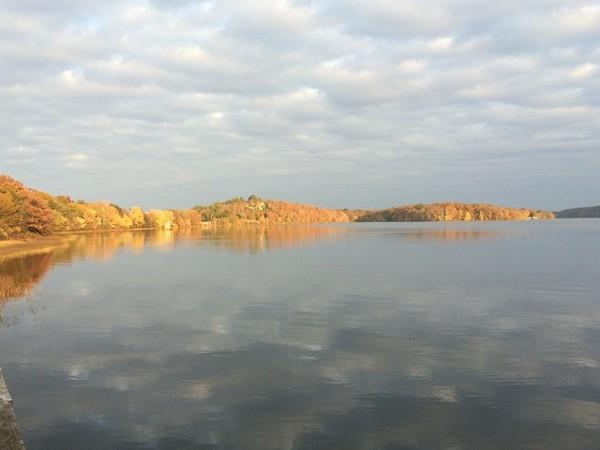 Beaverfork Lake at sunset