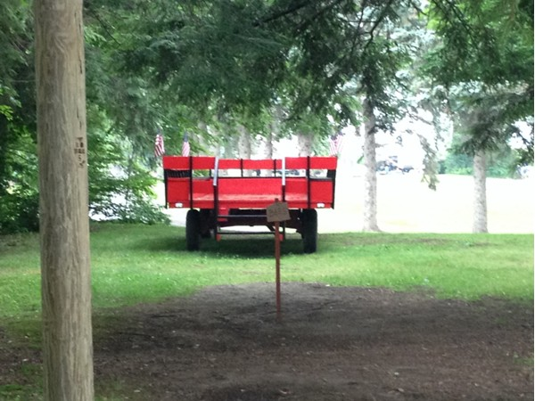 Woodstream Campground - enjoy an afternoon hayride with your family