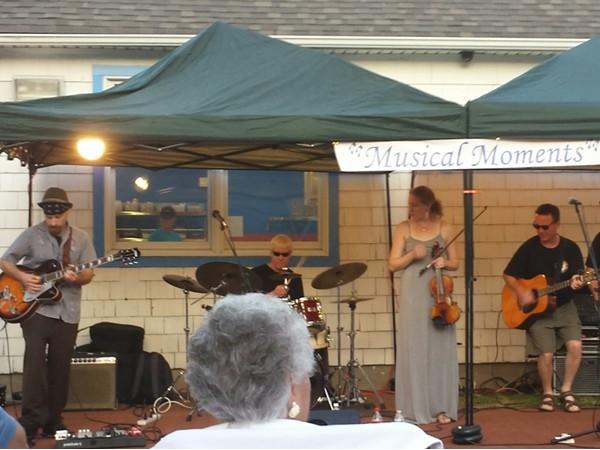 Twenty Six & Six performing at Russ Savatt Park