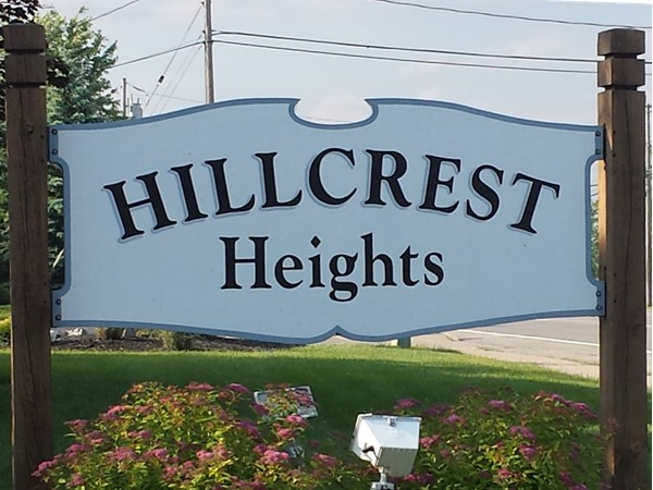 Hillcrest Heights Townhome community off Transit Rd in West Seneca NY