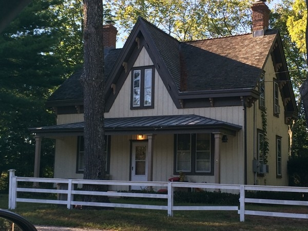 Grounds keeper's house at Forestwood