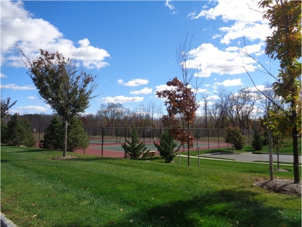 Tennis Courts recently finished at Hopewell Glenn located in the heart of Hopewell Junction