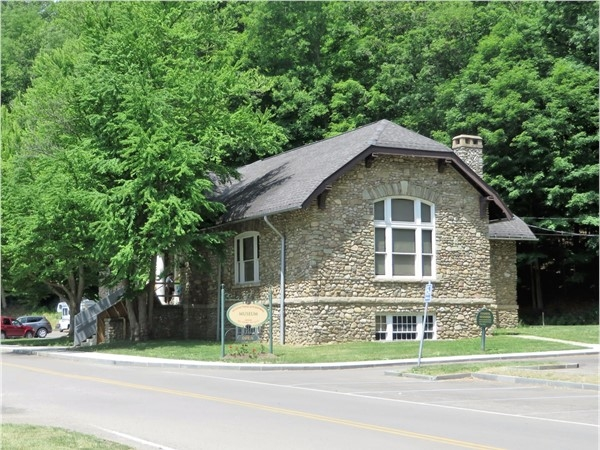 Museum at the Middle Falls. Letchworth State Park near Portage