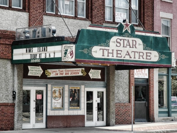 Dansville's Star Theatre was built in 1921 and still shows movies