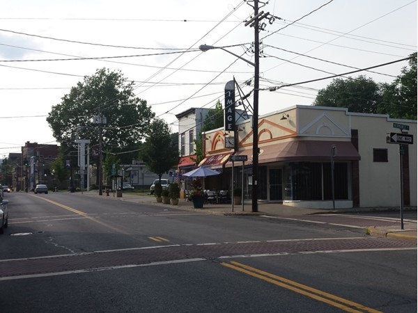 Main street Ellenville with shopping and more