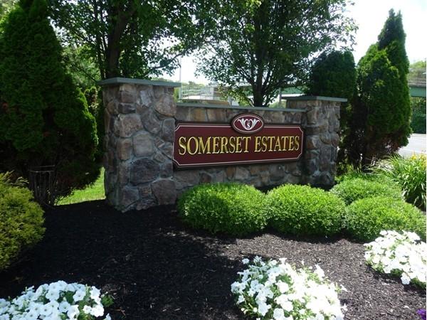 Entrance to Somerset Estates