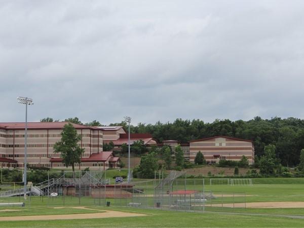 High school baseball fields