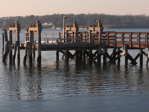 My favorite fishing pier at Oyster Bay